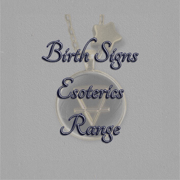Text Birth Signs Esoterics Range